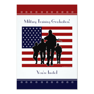 Military Training Graduation Personalised Invite