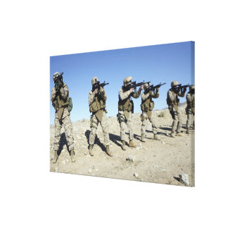 Military Transistion Team members Canvas Prints