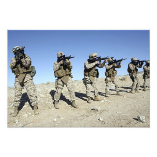 Military Transistion Team members Photographic Print