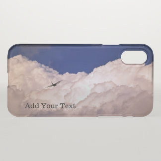 Military Transport Airplane by Shirley Taylor iPhone X Case