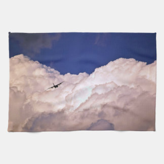 Military Transport Airplane by Shirley Taylor Tea Towels