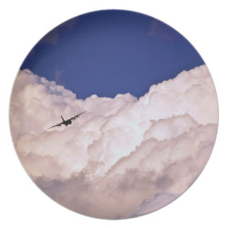 Military Transport Airplane Party Plates