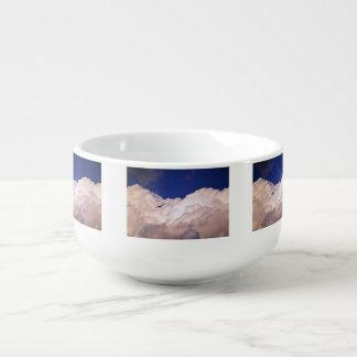 Military Transport Airplane Soup Mug