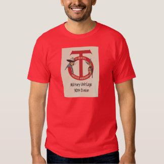 Military Unit Logo 90th Divsionvintage World War I Tshirts
