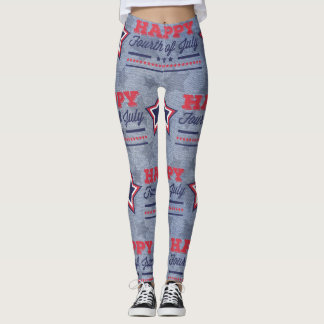 Military USA 4th of July Legging