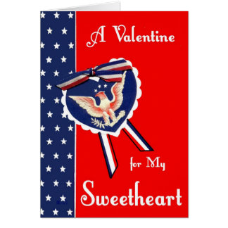 Military Valentine for Sweetheart Card