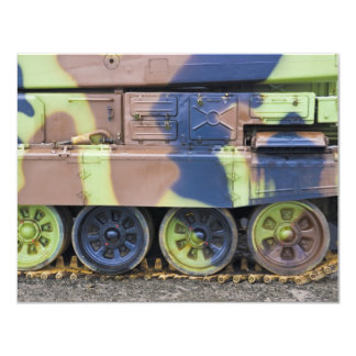 military vehicle personalized invitations
