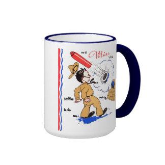 Military We Miss You Coffee Cup Mug