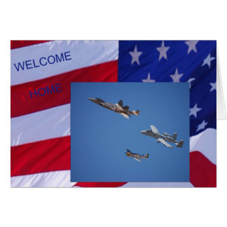 Military Welcome Home Card