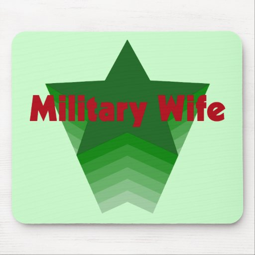 Military Wife Mousepads