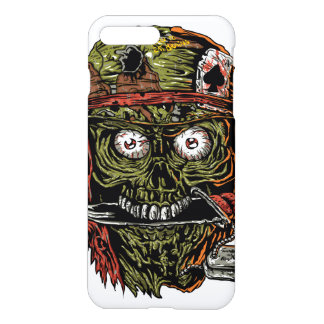 military zombie with knife in mouth iPhone 7 plus case