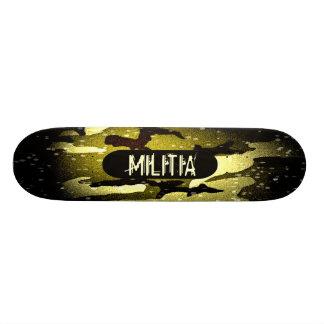 Militia Cammo skateboard