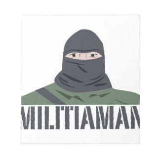 Militiaman Notepads