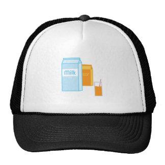 Milk 2% mesh hats