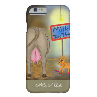 Milk Addict - Roller-Skating Cat Barely There iPhone 6 Case