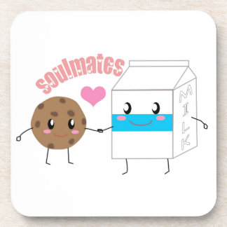 Milk and Cookie Beverage Coaster (Set of 6)