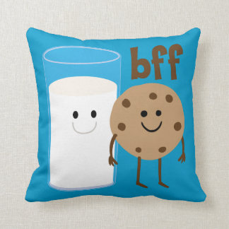 Milk And Cookies BFF Pillow