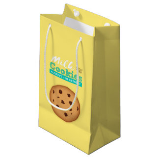 Milk and Cookies Birthday Party Small Gift Bag