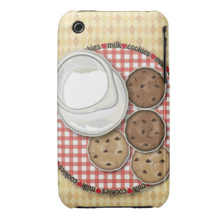 Milk and Cookies iPhone 3 Case-Mate Case