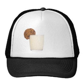 milk and cookies hat