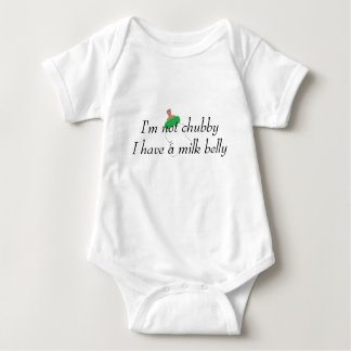 Milk Belly Bodysuite Baby Bodysuit