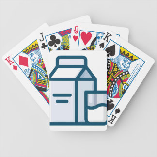 Milk Bicycle Playing Cards
