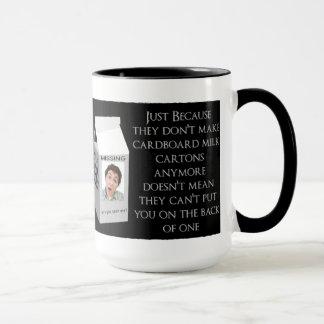 Milk Carton Insult Mug