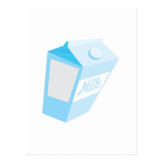 Milk Carton Post Card