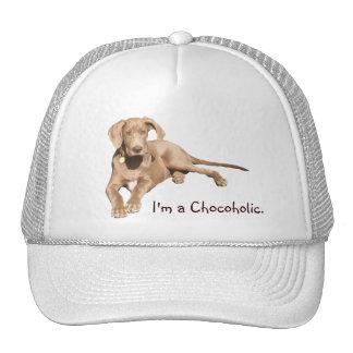 Milk Chocolate Dane - I'm a Chocoholic. Cap