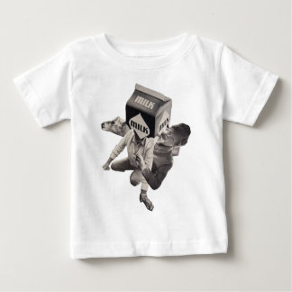 Milk collage T-shirt, infants Baby T-Shirt