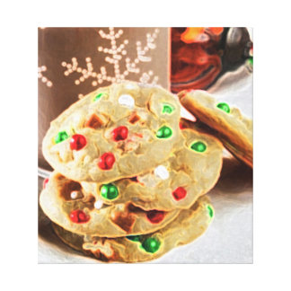 MILK COOKIES STRETCHED CANVAS PRINT