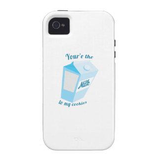 Milk & Cookies iPhone 4 Covers