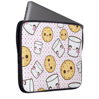 Milk & Cookies Laptop Sleeve