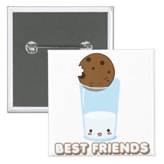 Milk Cookies Pinback Button