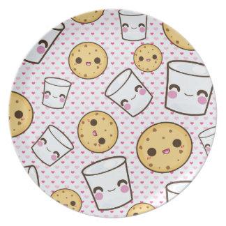Milk Cookies Plate
