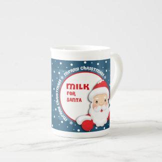 Milk for Santa Claus Christmas Gift Mugs Bone China Mugs