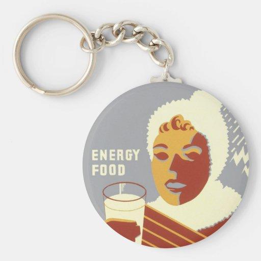 Milk for Warmth Key Chain