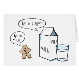 Milk & Ginger Note Card