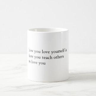 Milk & Honey Quote Coffee Mug