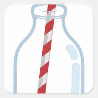 Milk Jug Square Sticker