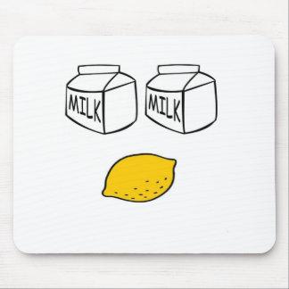 Milk Milk Lemonade Mousepad