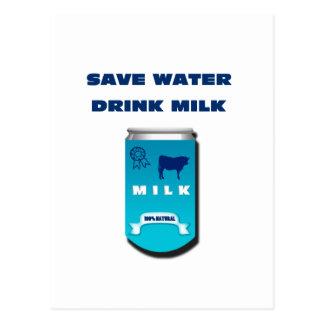 milk postcard