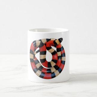 Milk snake coffee mug