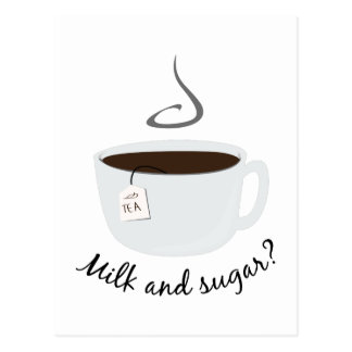 Milk & Sugar Postcard