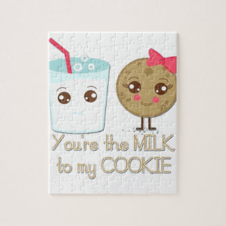 Milk to my Cookie Jigsaw Puzzle