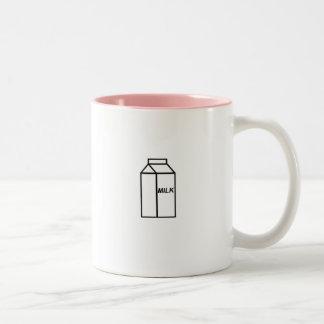 Milk Two-Tone Coffee Mug