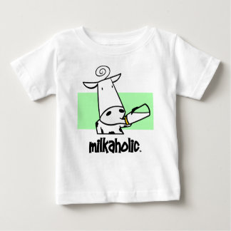 Milkaholics Infant Baby T-shirt