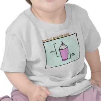 milkshake baby tee
