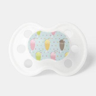 Milkshake Pattern Baby Pacifiers