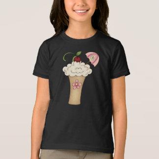 Milkshake With An Umbrella Girls T-Shirt